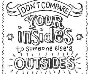 inside, outside, and quote image