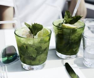 drink, mojito, and summer image