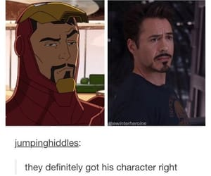 iron man, Marvel, and funny image