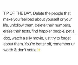 delete, people, and text image
