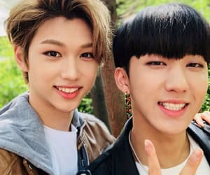 felix, changbin, and 3 out of 4 image
