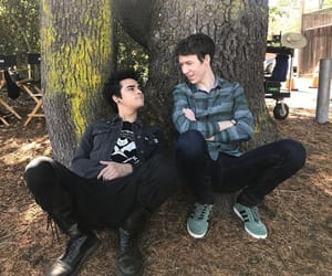 cyrus, 13 reasons why, and devin druid image