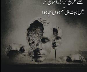 poetry, urdu, and اُردو image