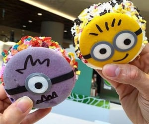 candy, disney, and minions image