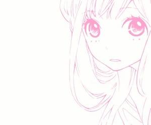 girls, manga, and pink image