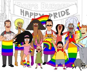 cartoon, gay, and lesbian image