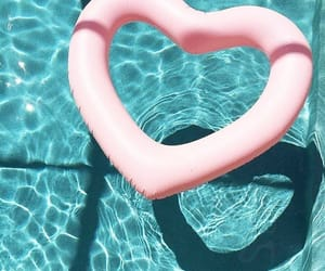 girly, heart, and love image