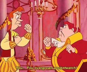 gif and beauty & the beast image