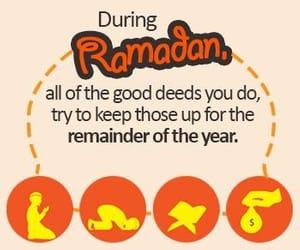 muslims and Ramadan image