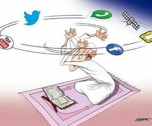 Ramadan, snapchat, and facebook image