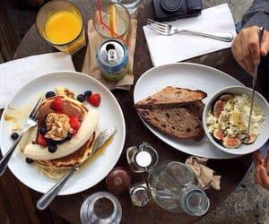 banana, cafe, and food image