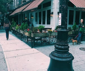 cafe, city, and eating image