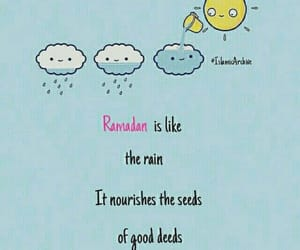 Ramadan, muslims, and quote image