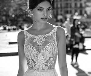 beautiful, bridal, and weddings image