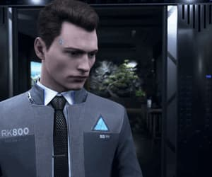 android, coin, and Connor image
