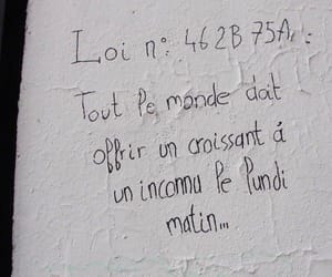 french, tag, and wall image