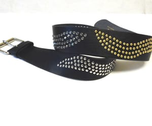 belt, etsy, and black belt image