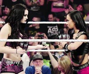 gif, paige, and wrestling image