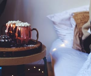 cozy, autumn, and hot chocolate image