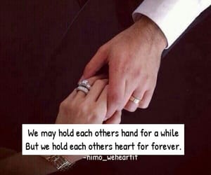 cute couples, holding hands, and life image