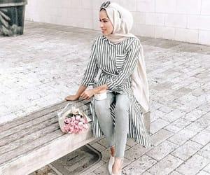 shirt dress hijab image