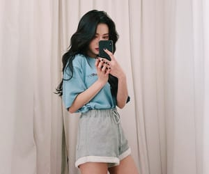 aesthetic, soft, and asian girl image