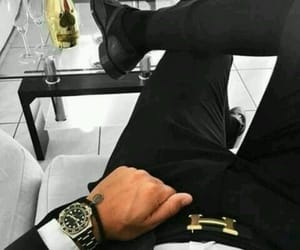 watch, black, and classy image