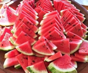food, melon, and fruit image