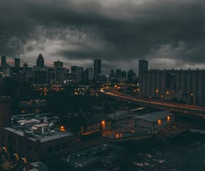 city, dark, and photography image