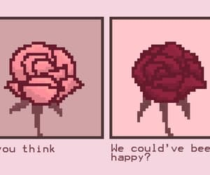 rose, quotes, and love image