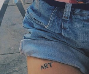 art, tattoo, and tumblr image