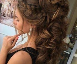 aesthetic, hair, and hairstyles image