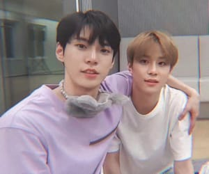 jungwoo, doyoung, and kpop image