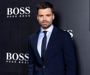 sebastian stan and Hugo Boss image