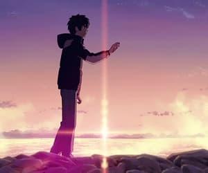 gif, anime, and kimi no na wa image