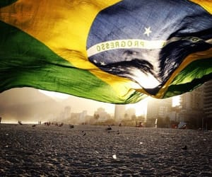 brasil, country, and heart image