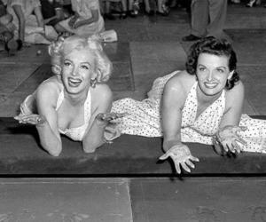 Jane Russell and Marilyn Monroe image