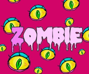 background, zombie, and colorfull image
