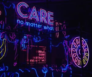 neon and care image