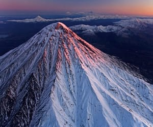 mountain and snow image