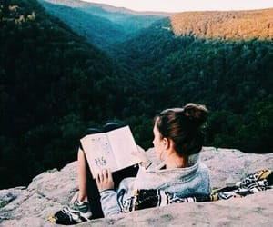 book, girl, and tumblr image