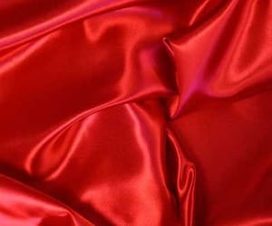 red, aesthetic, and satin image