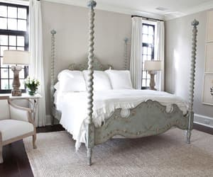bed, decor, and interior image