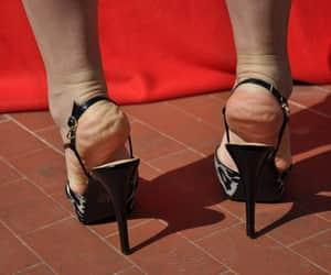 foot fetish, heel, and high heels image