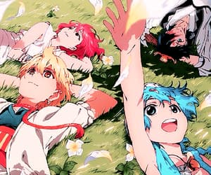 anime and magi the kingdom of magic image
