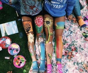 paint, art, and summer image