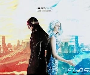 DC, snowbarry, and barry allen image