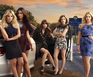 lucy hale, shay mitchel, and pretty little liars image