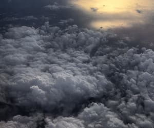 background, cielo, and clouds image