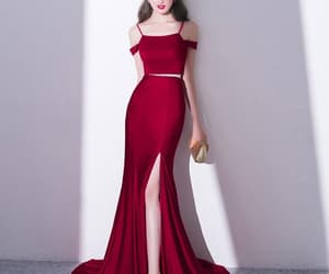 evening dresses two piece image